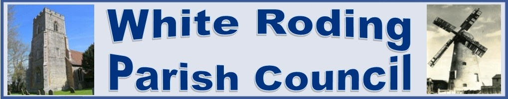 White Roding Parish Council logo
